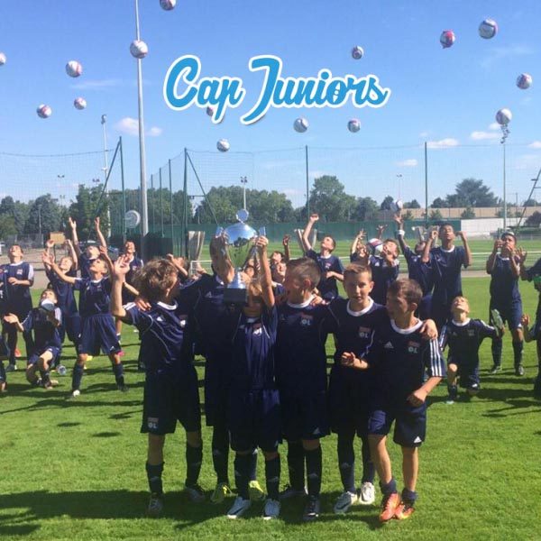 Stage de football OL avec Cap Juniors